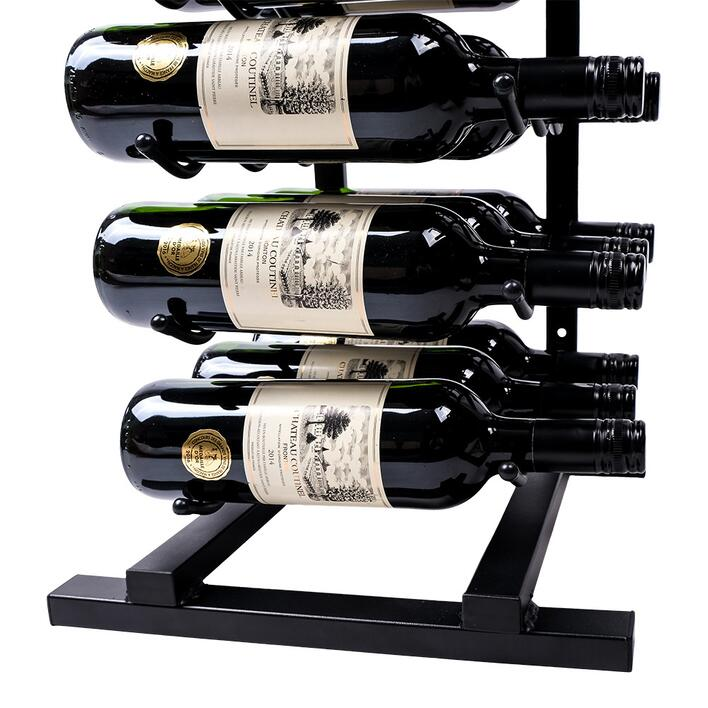 Top og gulvstander til Vino Wall Rack